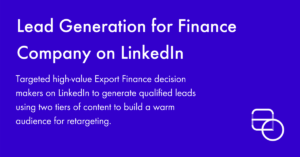 Paid Social LinkedIn Lead Generation